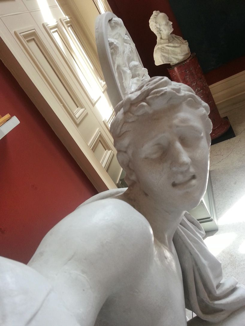 Statues Take Selfies