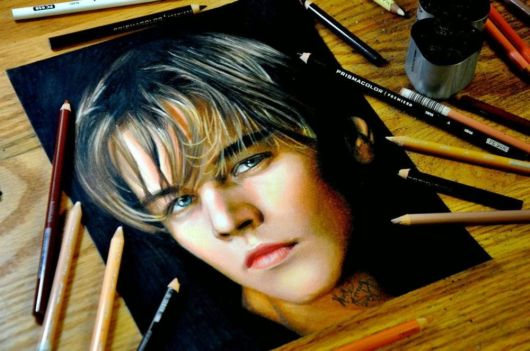 Pencils Portraits Sketches By Heather Rooney