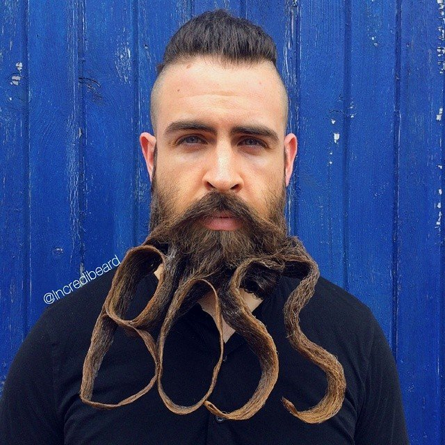 Incredibeard Is Back With New Epic Beards