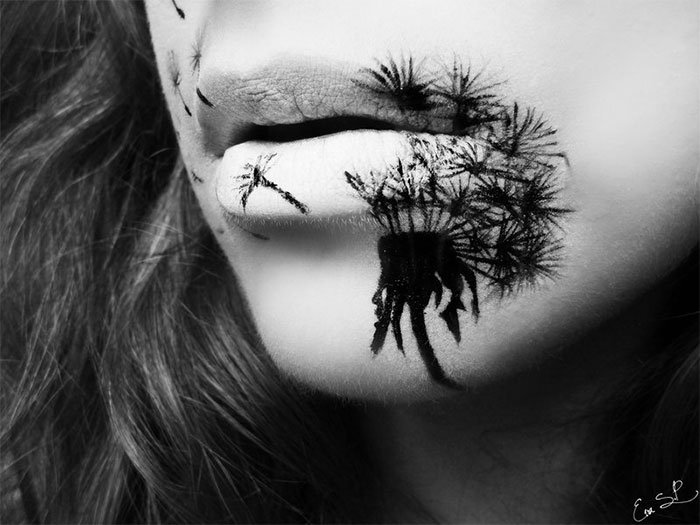 Lip Makeup For Halloween That Is Beautifully Creepy