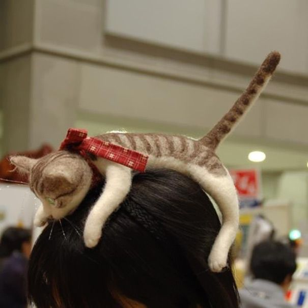 cat hairband