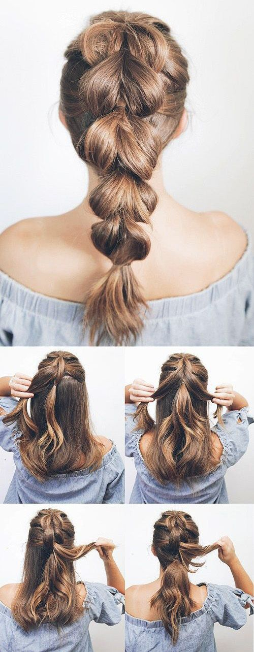Simple Diy Hairstyles Hairdos You Can Do In Minutes Fropky Com