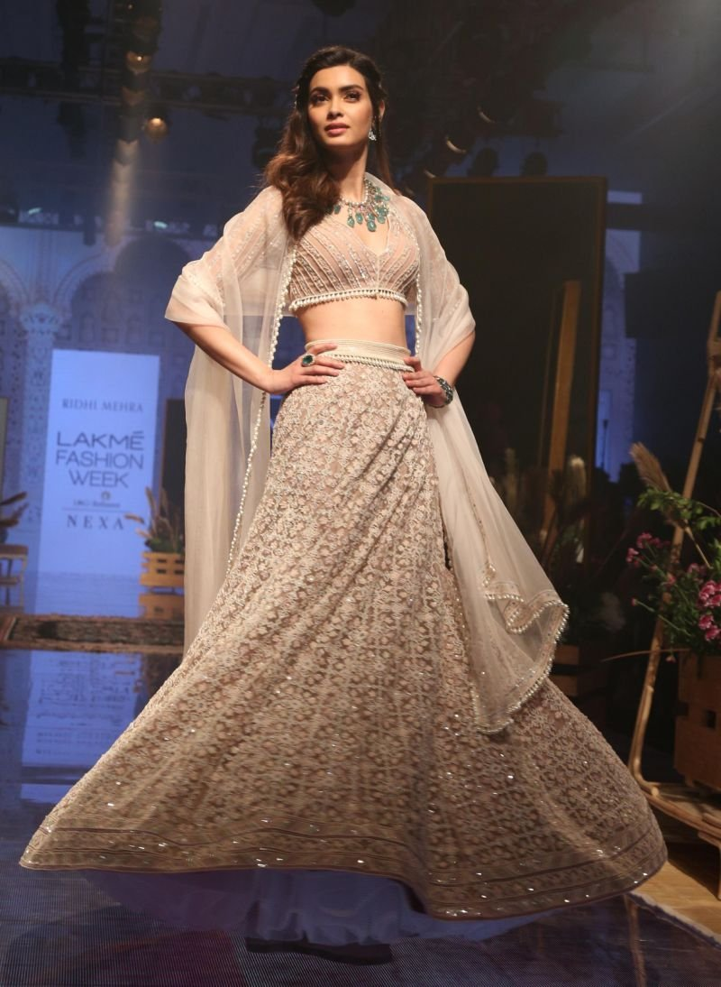 Model/actor Diana Penty turned showstopper