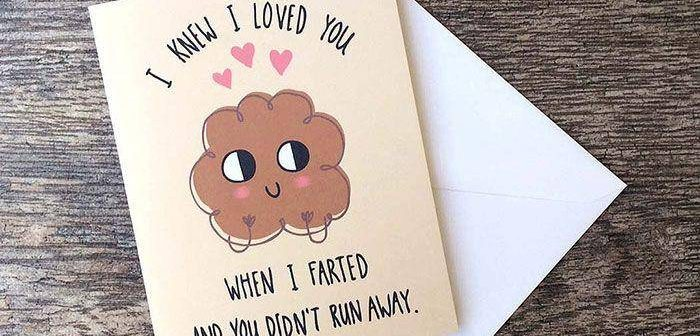 Unusual Love Cards