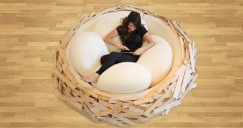 egg shaped pillows