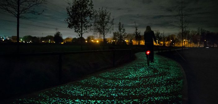 glowing path