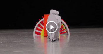 coolest stop motion papercraft
