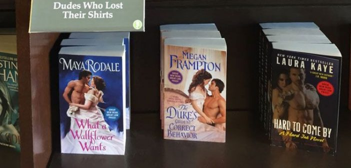 hilarious book sections