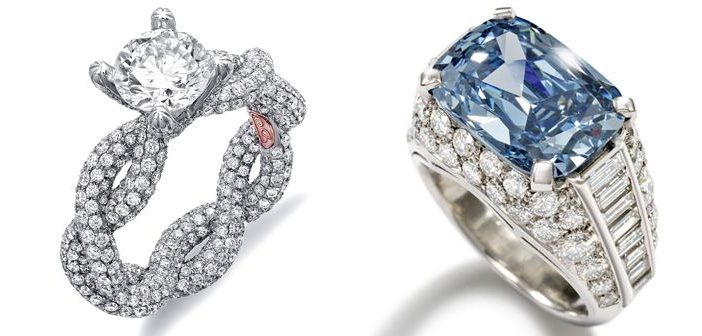 Size Does Matter: 25 Most Expensive Engagement Rings