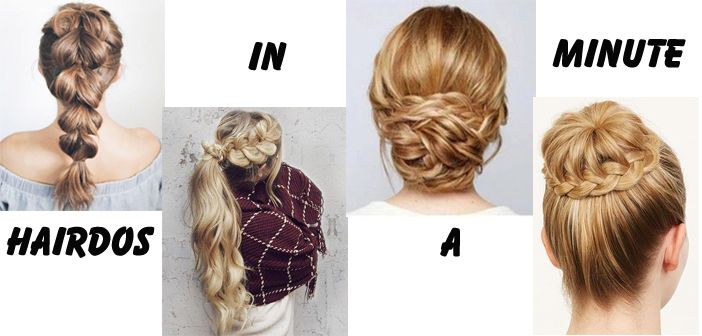 Simple DIY Hairstyles – Hairdos you can do in Minutes
