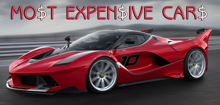 World's 23 Most Expensive Cars of 2018